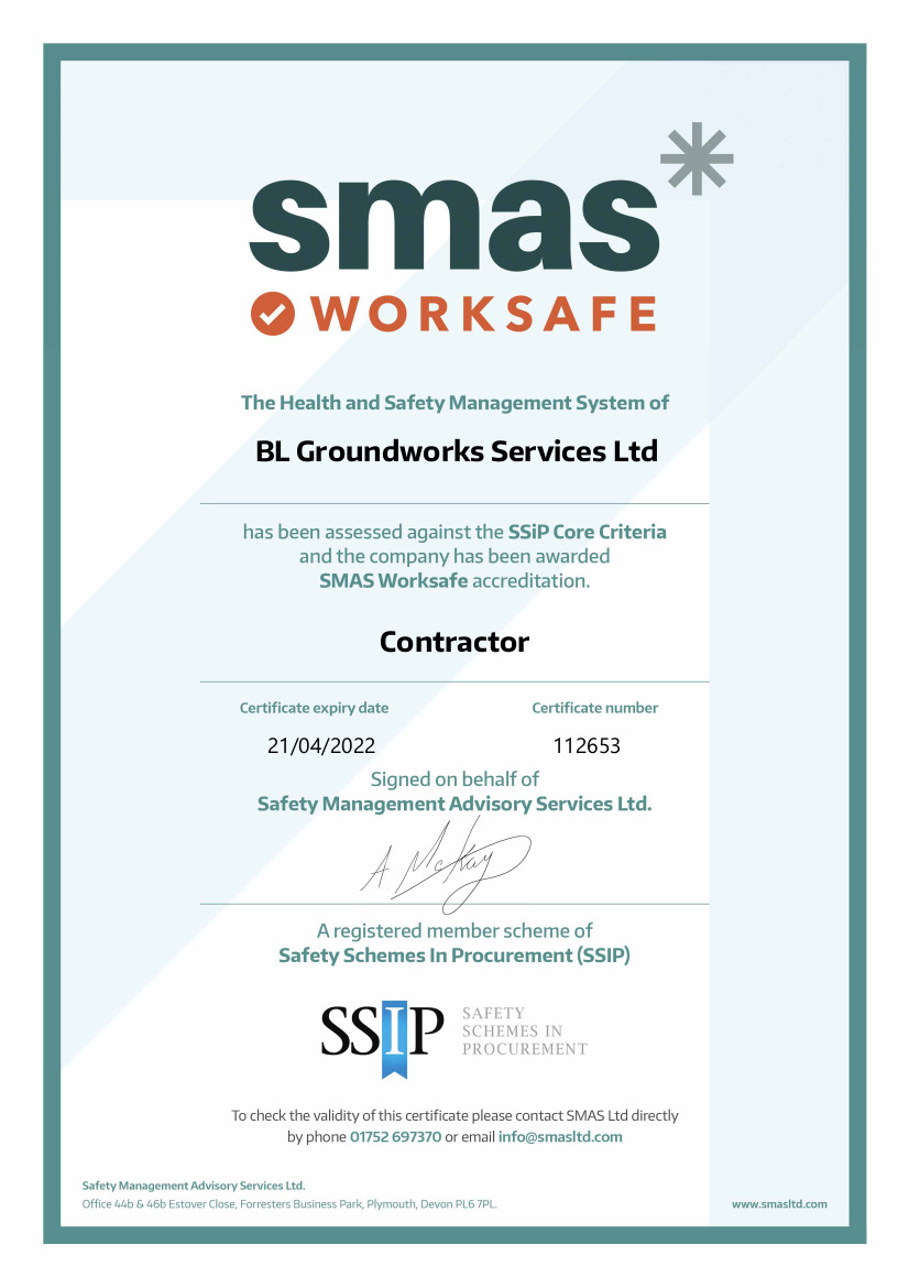 SMAS Worksafe Accredited